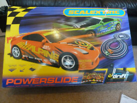 Scalextric Powerslide Set + Extras