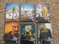 BREAKING BAD COMPLETE SERIES 1 TO 6 (21 DVD'S)