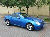 02 Mercedes SLK200 Kompressor - ELECTRIC CONVERTIBLE - 12MONTHS MOT