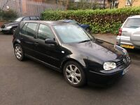2001 VW GOLF 4 MOTION 1 FORMER KEEPER WITH FULL HISTORY RECARO leather 900