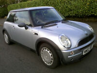 Mini One 1.6 2002 12 Months MOT Low Milage