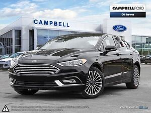2017 Ford Fusion SE AWD-LEATHER-LOADED