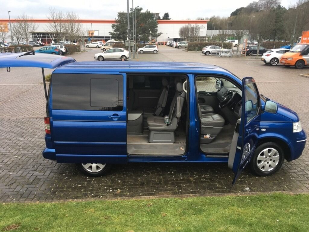 Volkswagen Caravelle 2 5 Tdi Se Bus 4dr 7 Seats Luxury Interior