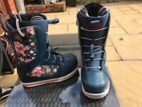 ThirtyTwo Womens 86FT Snowboard Boots 2017 UK 6.5