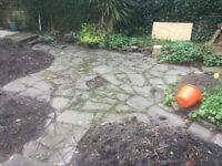 Free Stone Paving – Needs to be lifted