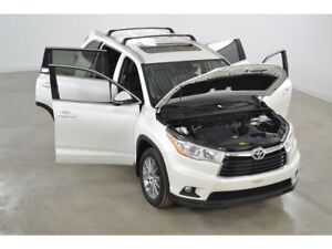 2016 Toyota Highlander XLE 4WD GPS*Cuir*Toit Ouvrant* 8 Passager