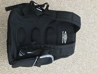 Umbro black back pack