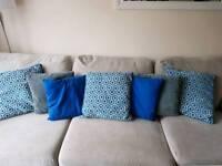 Job lot cushions