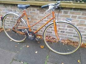 PEUGEOT MIXTE LADIES BIKE BRONZE 53CM