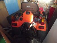 Small Kubota BX2200 tractor - 827 hours