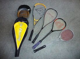 squash raquets