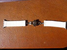 Apple Watch Band, 42mm Luxury Ceramic Bracelet Watch Band Strap