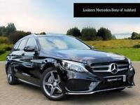 Mercedes-Benz C Class C250 D AMG LINE PREMIUM PLUS (black) 2016-07-20