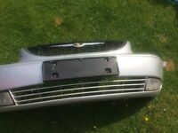 Chrysler Grand voyager front bumper Silver 2003 slight repair required