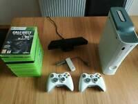 XBOX 360 60gb Kinect