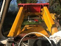 JCB 3D mk2 rare machine in working condition!