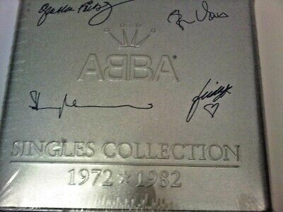 ABBA Singles Collection 1972 1982 TIN BOX 29 CD LIMITED NUMBERED SEALED RAREST