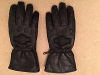 Genuine New Harley Davidson Motorcycle Leather Gloves Medium