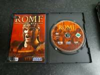 PC GAME Rome stratergy game like new