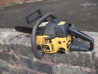 McCULLOCH MAC 338 14 INCH PETROL CHAINSAW IN EXCELLENT WORKING ORDER £45