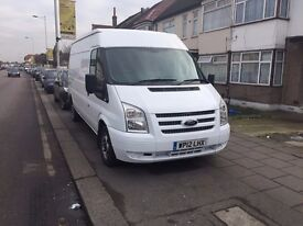 2012 12 REG FORD TRANSIT T350 LWB SEMI HIGH TOP - IVECO SPRINTER CRAFTER