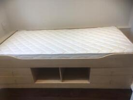 Brand new mattress for sale with bed
