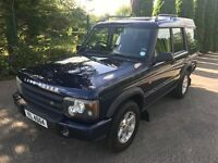 2002 Landrover Discovery 2.5 TD5 GS 138BHP 7 seats
