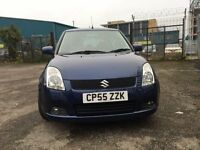 05 SUZUKI SWIFT VVTS GLX 5 DOOR HATCHBACK***NEW MOT TILL 10/10/18 NO ADVISORIES***CLEAN FAMILY CAR