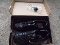 sondico football boots size 2 with studder and black socks- all brand new