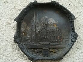 German Cologne Cathedral Heavy Metal Dish