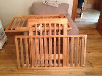 Babies Pine Cot