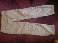Bershka cotton cargo pants / trousers