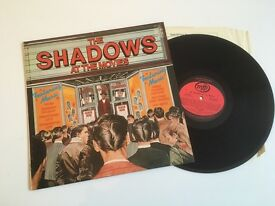The Shadows At The Movies 1978 Vinyl LP Record - 14 Tracks - Excellent condition