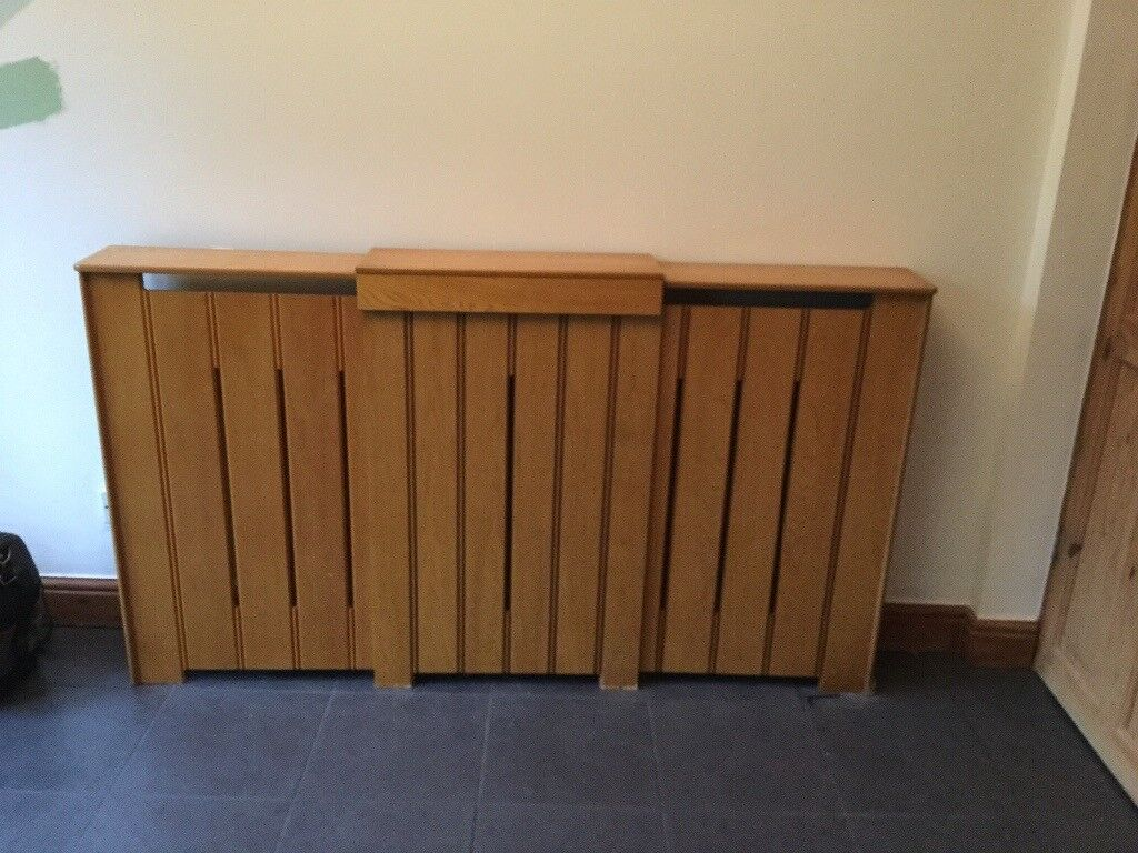 Radiator Cover. Pine Wood effect.