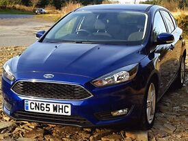 Latest Model 2015 65 Ford FOCUS Zetec 1.5 TDCi, One Owner, Warranty to 2018. Zero Rd Tax. Main D...