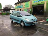 citroen xsara picasso 1.6 8v, long mot, px to clear cheap bargain ideal run about or work car