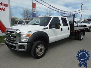 2015 Ford F550 XLT SuperCrew 4WD - V10 - 12 Ft Deck - Bluetooth