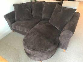 DEPOSIT TAKEN Very comfortable DFS 3seater sofa in chocolate