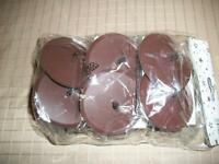 Brown Pillar Holder to put in Floral Foam Bag of 12 NEW