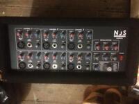 PA sound system Dj