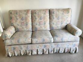 Suite - sofa and two armchairs three piece in total