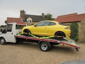 CAR AND LIGHT VAN TRANSPORT & RECOVERY SERVICE THROUGHOUT LINCOLNSHIRE AND CAMBRIDGESHIRE