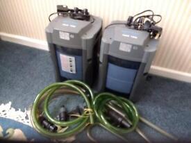 Aqua 1000 external filters.