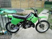 Kdx 125 2 stroke