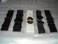 Ladies belts size 10 - 12