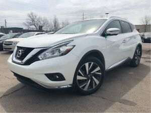 2016 Nissan Murano Platinum AWD LEATHER BACKUP CAM PANORAMA ROOF