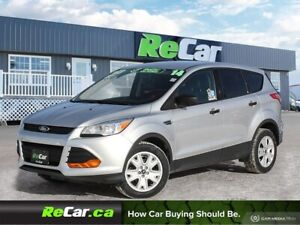 2014 Ford Escape S FWD | KEYLESS ENTRY | ONLY $63/WK TAX INC....
