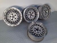 "BBS 15"" 7J 5x120 Deep dish, original alloy wheels, Classic wheels, not borbet, azev tm"