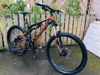 Boardman FS team full suspension mountain bike bargain condition