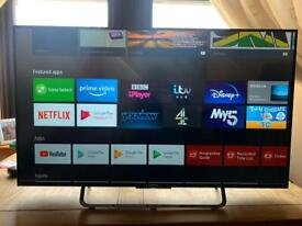 """SONY 49"""" 4K UHD ANDROID SMART TV with remote (Excellent condition)"""